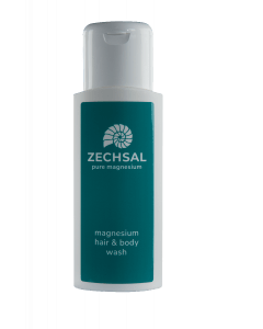 Zechsal magnesium hair & body wash, 200 ml. Soft for the skin!