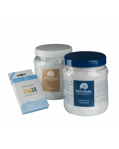 Zechsal deacidification pack, perfect for after the holidays!