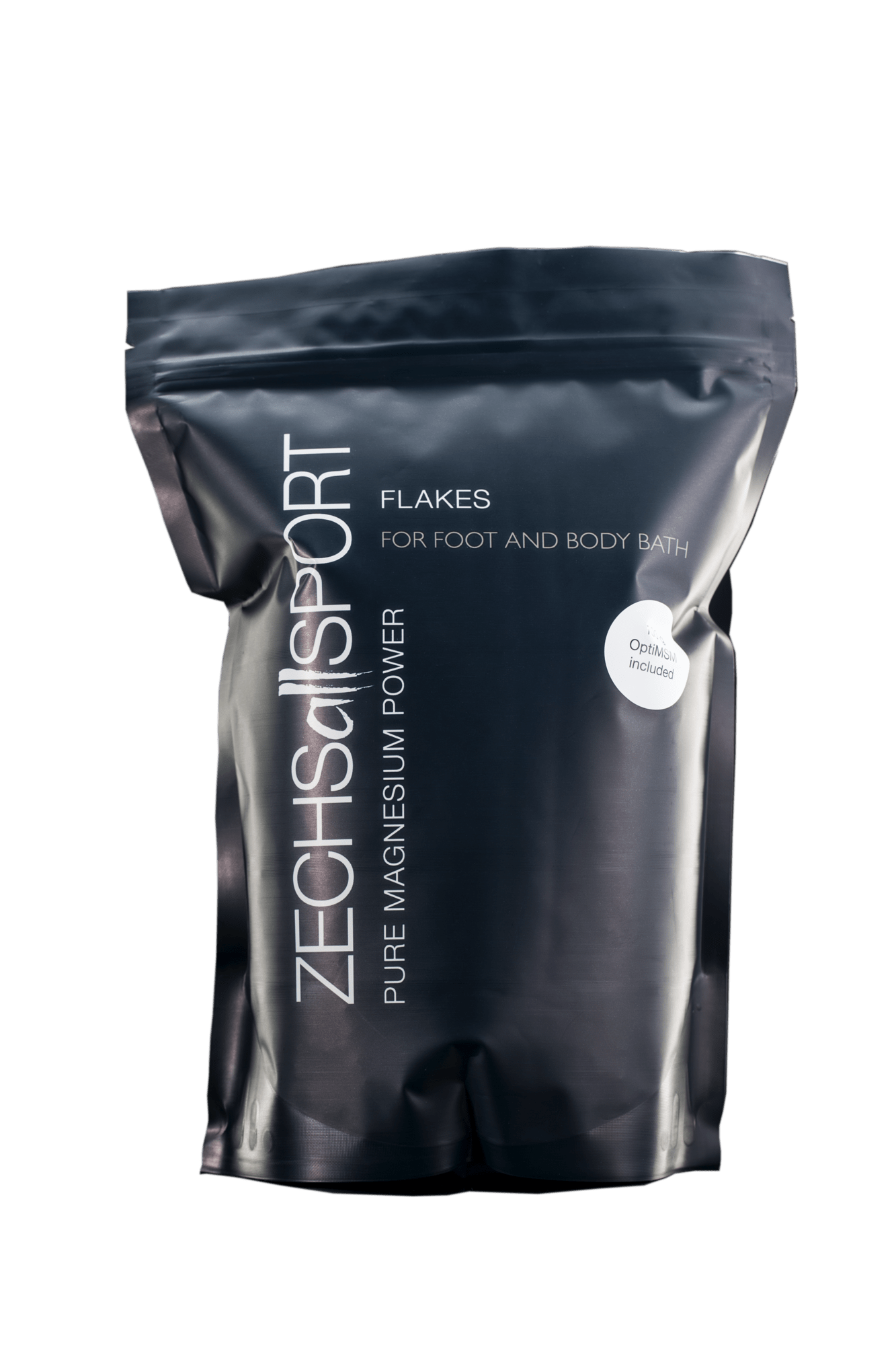 TOP product! Zechsallsport flakes, 1 kg pure magnesium with 100 g OptiMSM